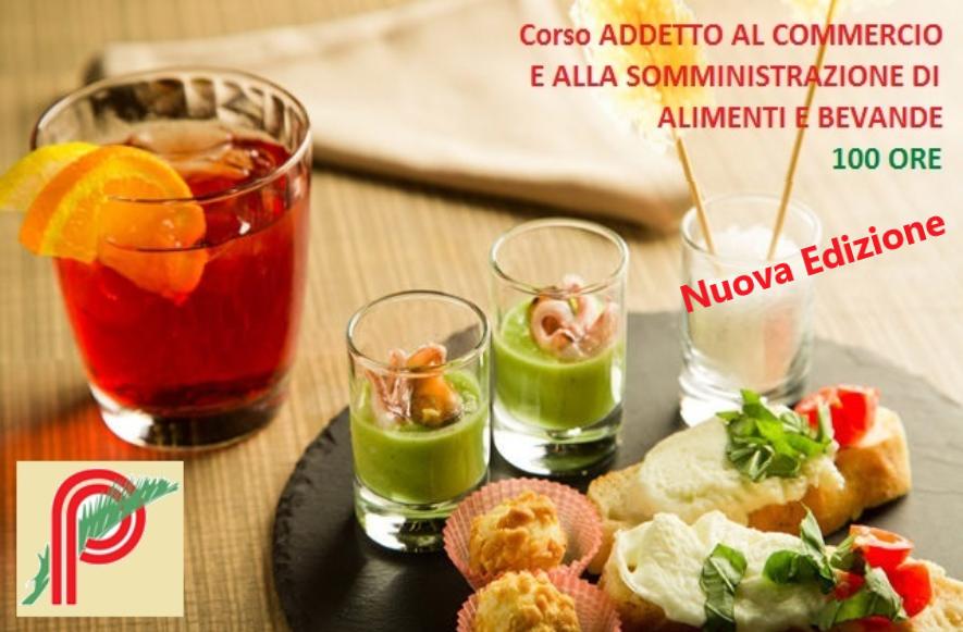Corso Addetto al Commercio e alla Somministrazione di Alimenti e Bevande