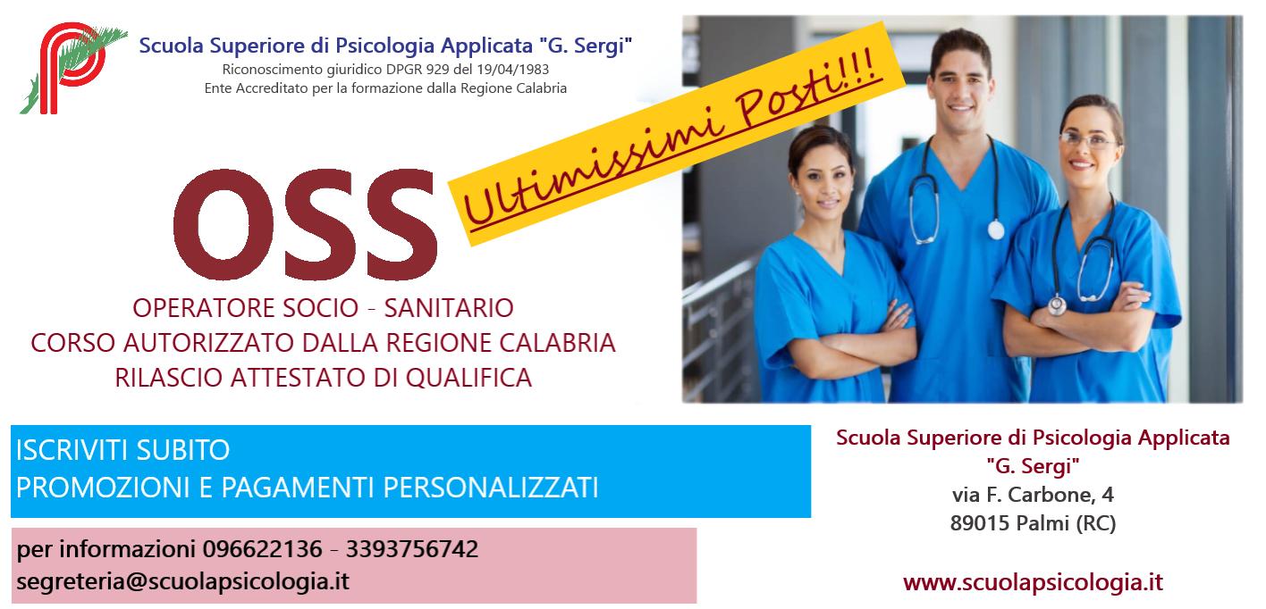 CORSO OSS - Operatore Socio- Sanitario